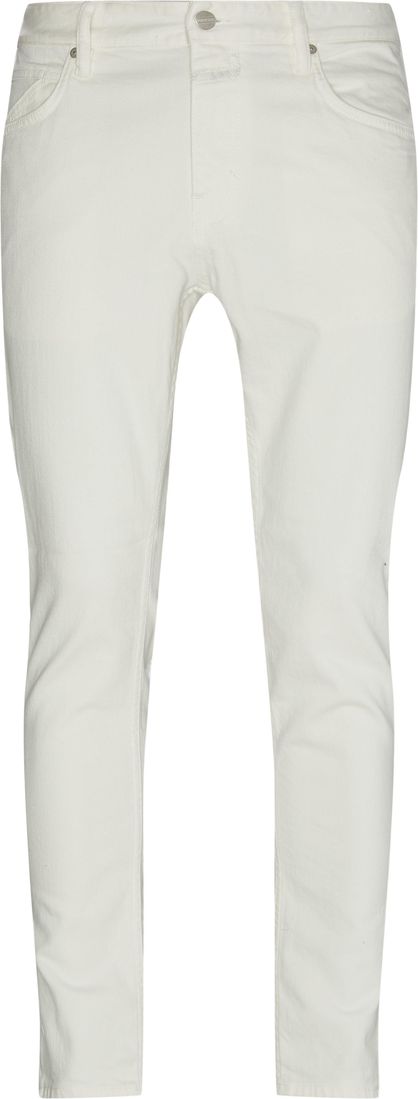 Jeans - Slim fit - Hvid
